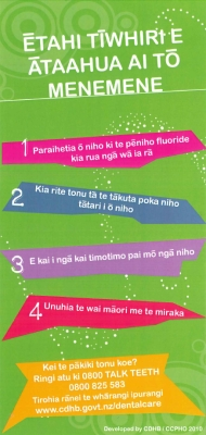 Tips for a Healthy Smile - Te Reo Māori