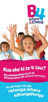 B4 School Check: Information for the Education Sector - Te Reo Māori