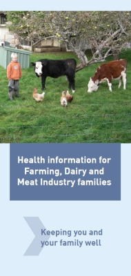 Health information for farming, dairy and meat industry families