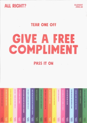 Free Compliments: Give One Away Today - Red