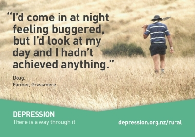 Depression in rural communities