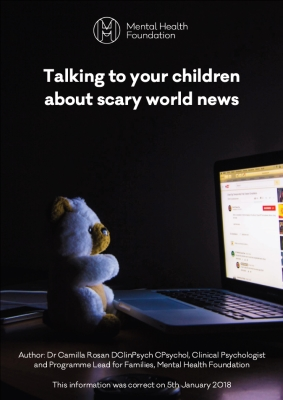 Talking to your children about scary world news