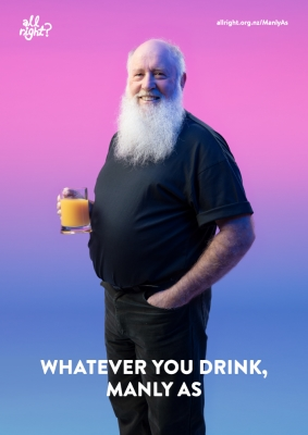Manly As: Whatever you drink