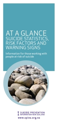 At a Glance: Suicide Statistics, Risk Factors and Warning Signs
