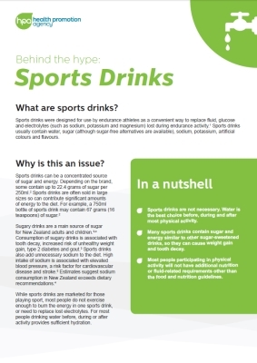 Behind the hype: Sports drinks
