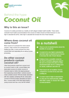 Behind the hype: Coconut oil