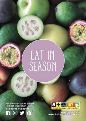 Eat in Season - Feijoa and Passionfruit