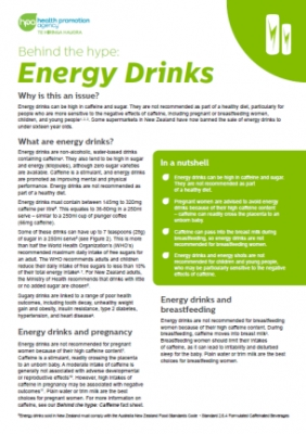 Behind the hype: Energy drinks