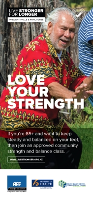 Live Stronger: Love your strength