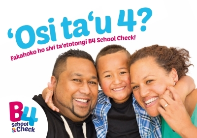 B4 School Check: Turning 4? - Tongan