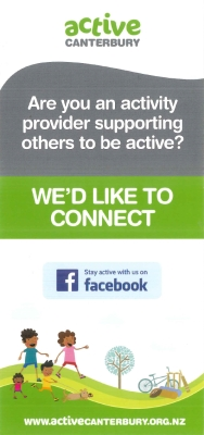 Are you an activity provider supporting others to be active? We