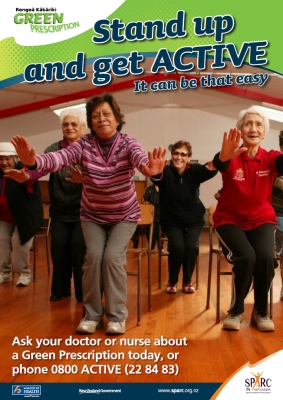 Stand up and get active: it can be that easy