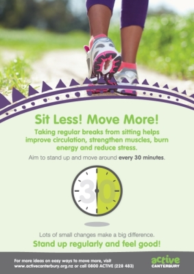 Active Canterbury: Sit Less! Move More!