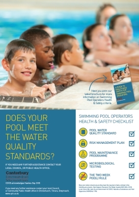 Does Your Pool Meet the Water Quality Standards?