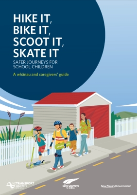 Hike it, bike it, scoot it, skate it