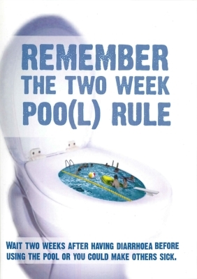 Remember the Two Week Poo(l) Rule