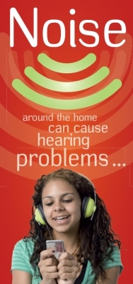 Noise around the home can cause hearing problems