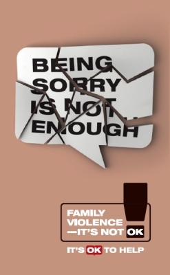 Being sorry is not enough