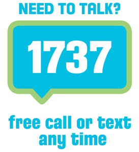 Need to talk? 1737 free call or text any time.