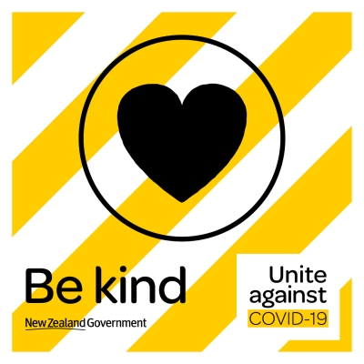 Be kind: Unite against COVID-19.