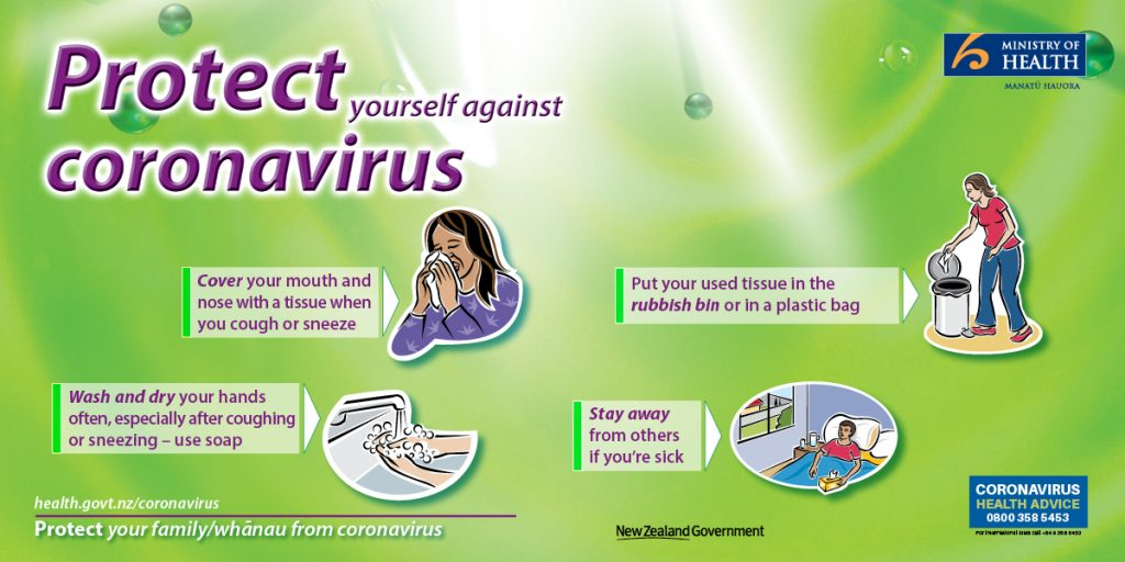 Protect yourself against coronavirus.