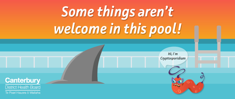 Some things aren't welcome in this pool.