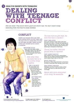 Dealing with teenage conflict