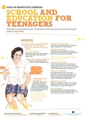 School and education for teenagers