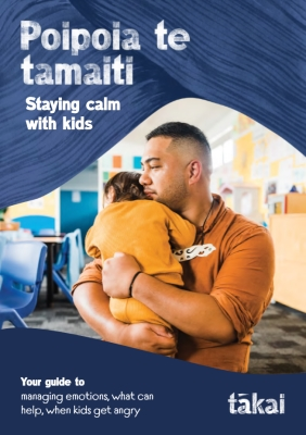 Staying calm with kids