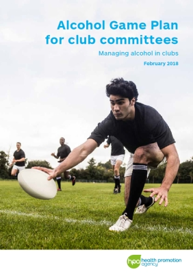 Alcohol Game Plan for club committees: Managing alcohol in clubs