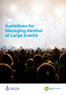 Guidelines for managing alcohol at large events