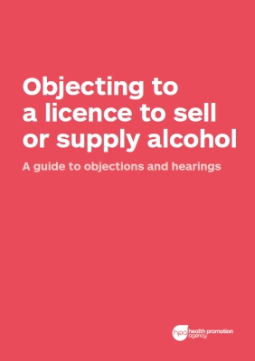 Objecting to a licence to sell or supply alcohol