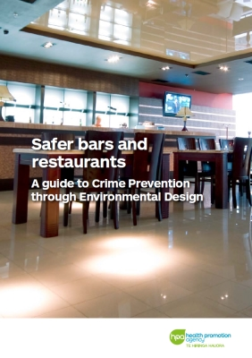 Safer bars and restaurants: A guide to Crime Prevention through Environmental Design