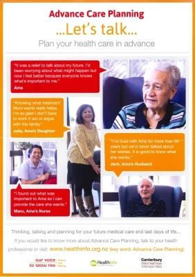 Advance Care Planning... Let