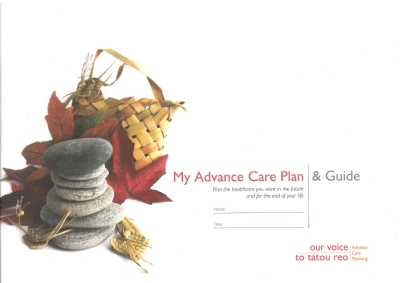 My advance care plan and guide