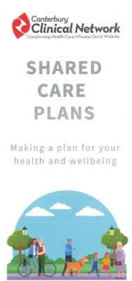 Shared care plans: Making a plan for your health and wellbeing