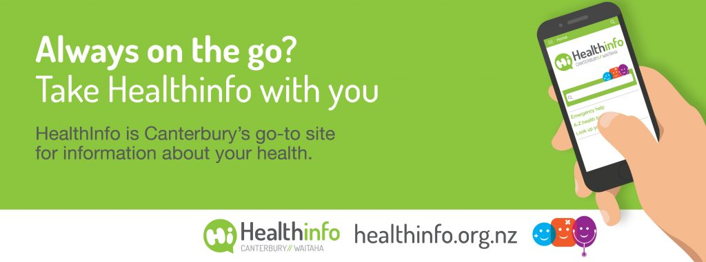 Always on the go? Take Healthinfo with you.