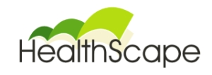 Logo for Community and Public Health's Healthscape application.