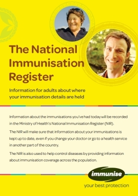 The National Immunisation Register