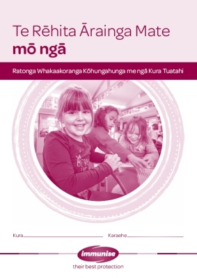 Immunisation Register for Early Childhood Services and Primary Schools - Te Reo Māori