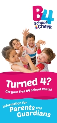 B4 School Check: Information for Parents and Guardians