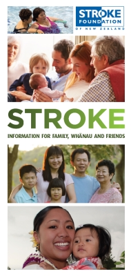 Stroke: Information for family, whānau and friends