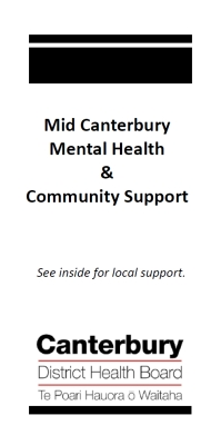 Mid Canterbury Mental Health Community Support