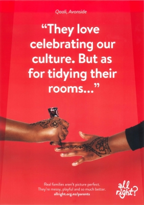 Parents: They love celebrating our culture. But as for tidying their rooms...