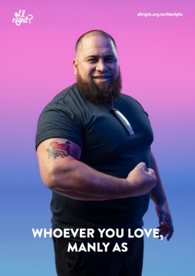 Manly As: Whoever you love