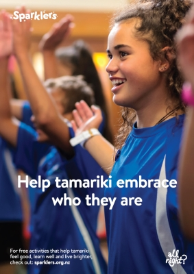 Sparklers: Help tamariki embrace who they are