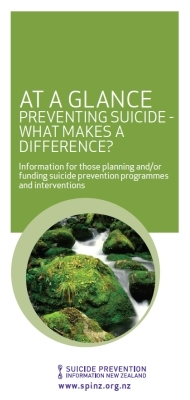 At a Glance: Preventing Suicide - What Makes a Difference?