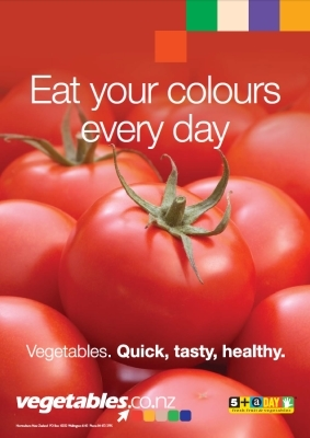 Eat Your Colours - Red
