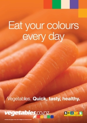 Eat Your Colours - Orange