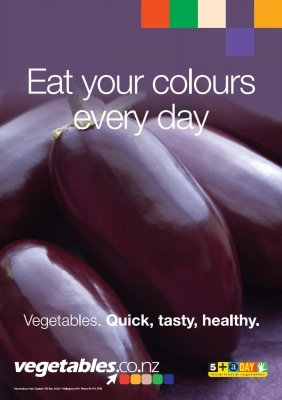 Eat Your Colours - Purple